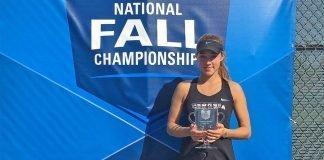Georgia's Katarina Jokic wins 2018 Oracle ITA National Fall Championships