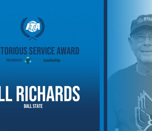 Ball State Men's Tennis Coach Bill Richards