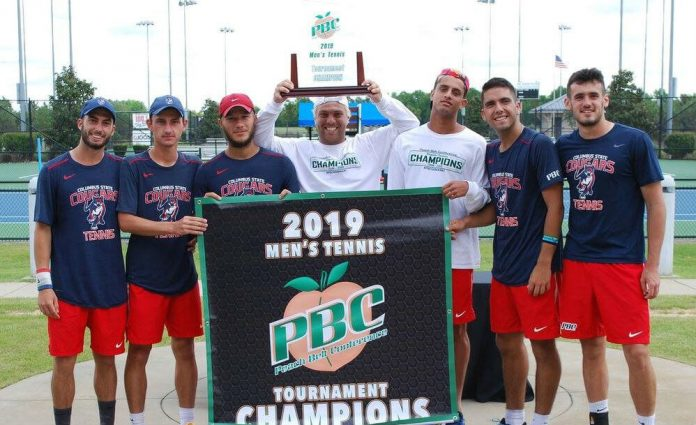 Columbus State men's tennis