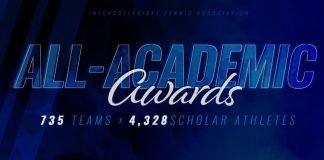 2018 ITA All-Academic Teams and Scholar-Athletes