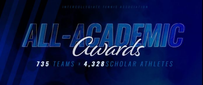2018 ITA All-Academic Teams and Scholar-Athletes