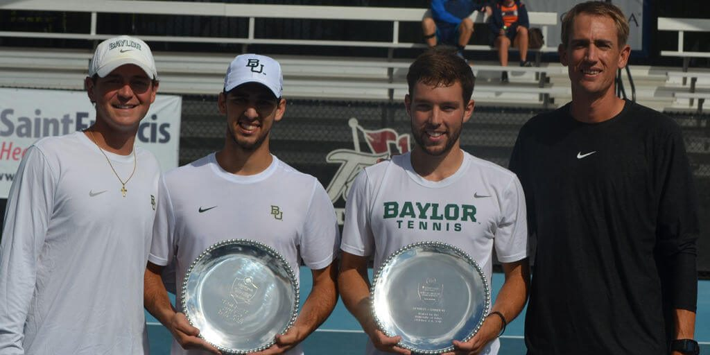 Baylor's Jimmy Bendeck and Sven Lah