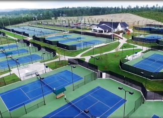 Rome Tennis Center at Berry College