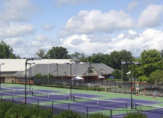 Furman Tennis Courts