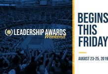 Leadership Award Weekend Graphic