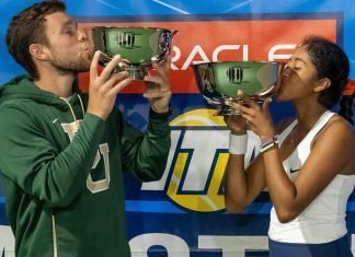 2019 Oracle ITA Masters Mixed Doubles Champions