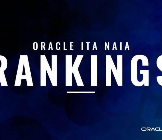 Oracle ITA NAIA Rankings