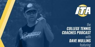 College Tennis Coaches Podcast with Dave Mullins featuring Chase Hodges