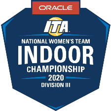 2020 ITA Division III National Women's Team Indoor Championship Presented by Oracle