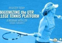 Maximizing the UTR College Tennis Platform