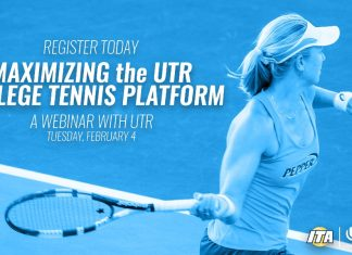 Maximizing the UTR College Tennis Platform