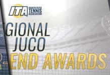 2018 ITA JUCO Regional Awards