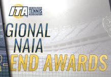 2018 ITA NAIA Regional Awards