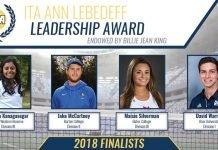 2018 ITA Ann Lebedeff Leadership Award Finalists