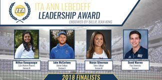 2018 ITA Ann Lebedeff Leadership Award Finalists