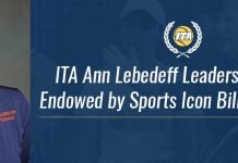 ITA Ann Lebedeff Leadership Award Graphic