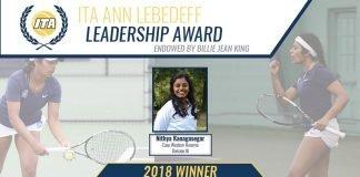 2018 ITA Ann Lebedeff Leadership Award Winner