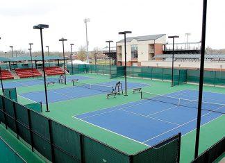 University of Oklahoma Tennis Courts