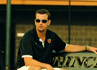 Princeton Men's Tennis Head Coach Billy Pate