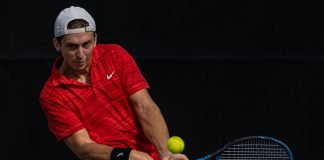 Jonathan Sheehy of Oklahoma Men's Tennis