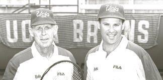Glenn Bassett along with Billy Martin - UCLA Men's Tennis