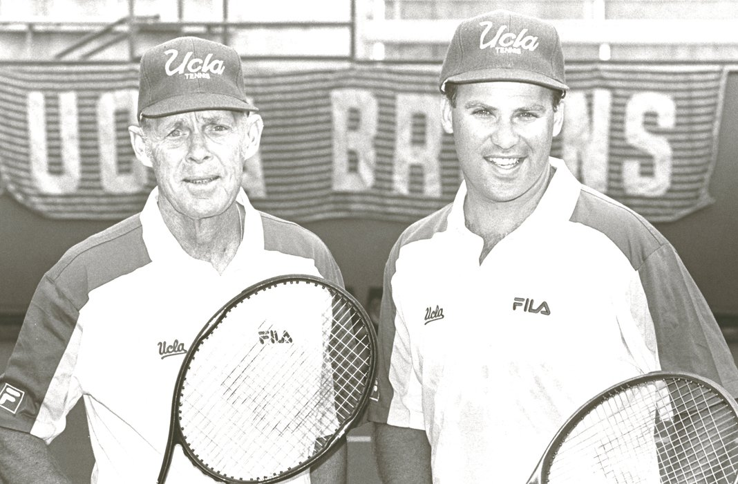 Glenn Bassett along with Billy Martin - UCLA Men's Tennis