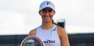 Jessica Faila - Women's Singles Champion at the 2020 Oracle ITA National Summer Championships