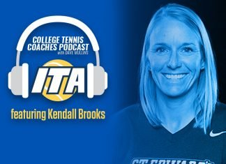 Kendall Brooks on the College Tennis Coaches Podcast