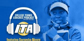 Darnesha Moore joins us on the ITA College Tennis Coaches Podcast