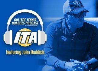 John Roddick of UCF Men's Tennis joins David Mullins on the ITA College Tennis Coaches Podcast