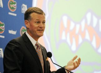 Scott Stricklin - Athletic Director at the University of Florida