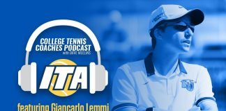 Giancarlo Lemmi of Liberty University women's tennis joins us on the College Tennis Coaches Podcast