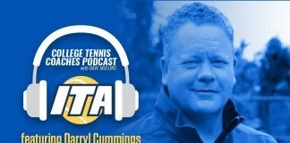 Darryl Cummings joins us on the ITA College Tennis Coaches Podcast