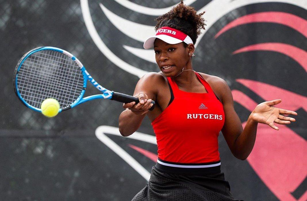 Maya Jacobs of Rutgers University Women's Tennis