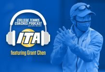 SMU Head Men's Tennis Coach Grant Chen on the ITA College Tennis Coaches Podcast